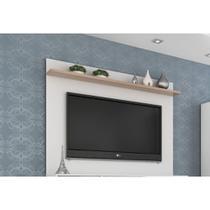 Painel benevello 2035 para tv até 50 polegadas branco/siena - Quiditá