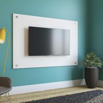 Painel com Botões para TV até 60 Polegadas 90cmx136cm Kappesberg Premium Branco -