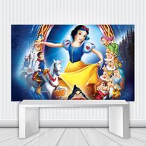 Painel de festa Infantil Branca de Neve Espelho 1.80m X 1.30m - Wrio