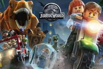 Painel de Festa Lego Jurassic World 01 - Colormyhome