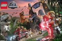 Painel de Festa Lego Jurassic World 02 - Colormyhome