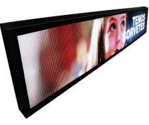 Painel De Led P5 De 2m X 40cm Full Color Vídeos Rgb Indoor - Mega Light Brasil