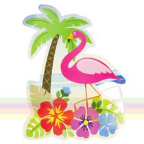 Painel Decorativo Flamingo Festa Havaiana Paper Fest - Festabox