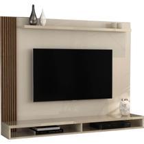 Painel Dijon para TV até 50 Polegadas EDN Móveis Cor Off Naturale - Estrela Móveis