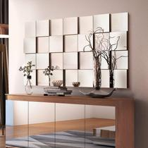 Painel Espelhado Decorativo 136,5cmx78cm Liverpool Espresso Móveis Preto -