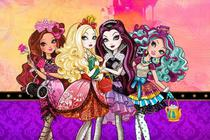 Painel Festa Ever After High  150x100cm - X4adesivos