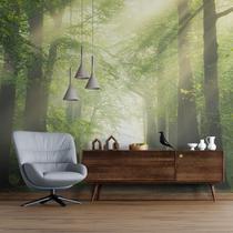 Painel Fotográfico Paisagem Árvores N09296 3,00x2,90M - Papel Na Parede