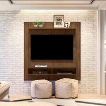 Painel Home Capri Smart para TVs de até 43 polegadas Linea Brasil - Nogueira -