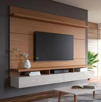 Painel Home City Para Tv Até 60'' Natural / Off - Móveis Província -