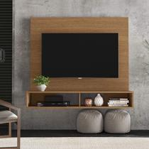 Painel Home para TV até 50 Polegadas 2 Nichos Alpes Colibri Natura Real -