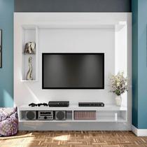 Painel Home para TV até 50 Polegadas 2 Nichos TB101 Dalla Costa Branco -