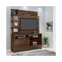 Painel Home para TV até 50Pol Aporé Candian Cacau - JCM Movelaria - Jcm móveis