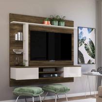 Painel Home para TV até 60 Polegadas com LED 2 Portas Basculante Salinas Colibri -
