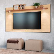 Painel Home para TV até 65 Polegadas 1 Prateleira Astúrias Colibri Móveis -