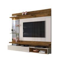 Painel Home para Tv de até 55 Polegadas 2 Prateleiras Luz de LED Dj Móveis Ares 18736.108 -