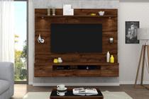 Painel Home Suspenso  Estilo LED para Tv 55 polegadas - Dj móveis