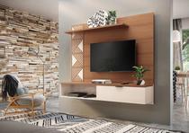 Painel Home Suspenso Grid Para Tv até 50 Polegadas - HB Móveis -