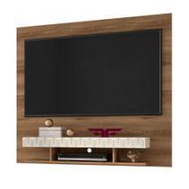 Painel Home Suspenso para TV até 47/50 Polegadas Clean Canela/Off White - Frade Movelaria -