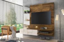 """Painel Home Suspenso para Tv até 50"""" DJ Móveis Turim Demolição/Off White -"""