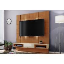 Painel Home Suspenso para TV com LED TB125L Freijó/Off White - Dalla Costa -