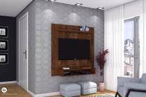 Painel Home Suspenso Smart Rústico Malbec - DJ Móveis -