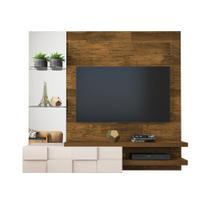 Painel Home Suspenso Turim para Tv 55 polegadas 100 MDF Dj Móveis -