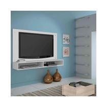 Painel Iolita para TV até 47Pol Candian Branco - JCM Movelaria - Jcm móveis