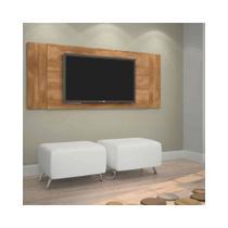 Painel Jaspe para TV até 42Pol Candian Nobre - JCM Movelaria - Jcm móveis