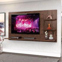 """Painel New Clean 160cm P/TV até 49"""" Jacarandá - Zanzini -"""
