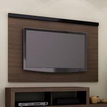 Painel para TV 1.3 PA2906 Tabaco e Preto - Tecnomobili