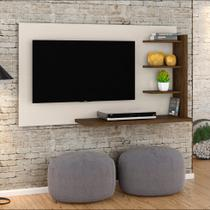 Painel para TV 42 Polegadas Julia 136 cm Off White Savana - Madetec