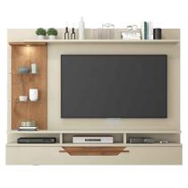 Painel para Tv 50 polegadas Londres Permobili Off White/Savana -
