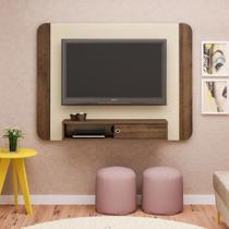 Painel Para Tv 50 Polegadas  Wave Artely Off White Pinho -