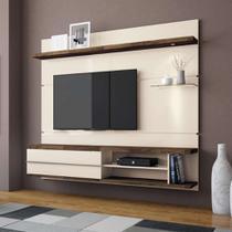 Painel para TV 55 Polegadas Epic Off White e Deck 181 cm - Hb móveis