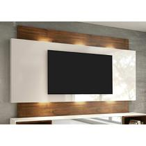 Painel para TV 58 Polegadas com Led Morisot II Off White e Nobre - Dalla costa