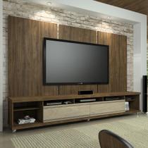 Painel para TV 60 Polegadas Elite Ameixa Negra 240 cm - Knr móveis