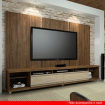 Painel para TV 60 Polegadas Elite Ameixa Negra 275 cm - Knr móveis
