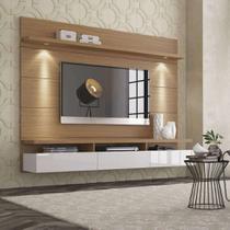 Painel para TV 60 Polegadas Horizon Natural e Off White 181 cm - Província