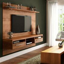 Painel para TV 60 Polegadas Toledo Ipê 182 cm - Valdemóveis