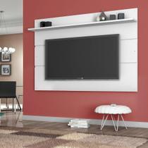 Painel para TV 65 Polegadas Vivare Branco Acetinado 180 cm - Germai