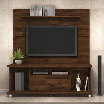 Painel para Tv 70 Polegadas com prateleira e Bancada Vitório DJ Móveis -
