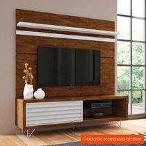 Painel para TV 70 Polegadas Venezza Canyon e Branco 180 cm - Hb móveis