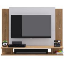 """PAINEL PARA TV ATé 32"""" COM NICHO PS300 NATURALLE/BRANCO - DECIBAL MóVEIS - Móveis Civardi Ltda"""