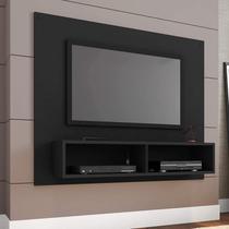 Painel para TV até 39 Polegadas Dubai Espresso Móveis Preto Fosco -