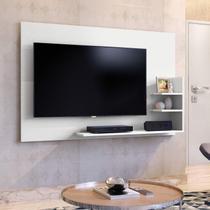Painel para TV até 40 Polegadas 3 Prateleiras Exclusive Mavaular Branco -