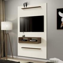Painel para TV até 40 Polegadas Indy EDN Móveis Off White/Rovere Italiano -