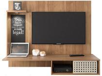 "Painel para TV até 42"" 1 Prateleira - Líder Design Premium Versatile"