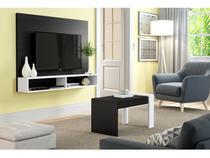 """Painel para TV até 42"""" com Mesa de Centro Malbec  - Multimóveis"""