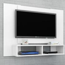 Painel para TV até 42 Polegadas 2 Nichos Navi Móveis Bechara Branco -