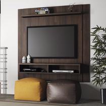 Painel para TV até 42 Polegadas Capri Linea Brasil Chocolate Wood -